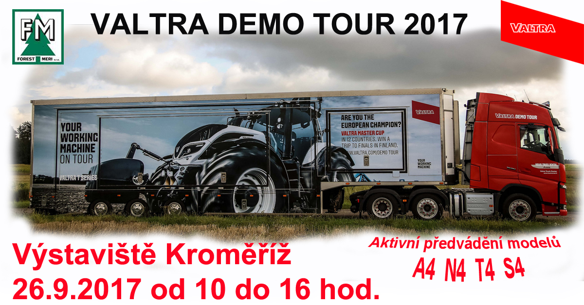 VALTRA DEMO TOUR 2017