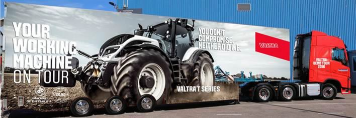 VALTRA DEMO TOUR 2016